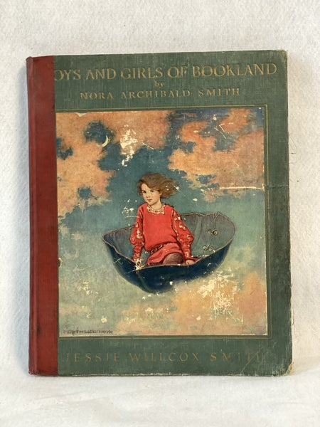 """""""Boys & Girls of Bookland"""" vintage book"""