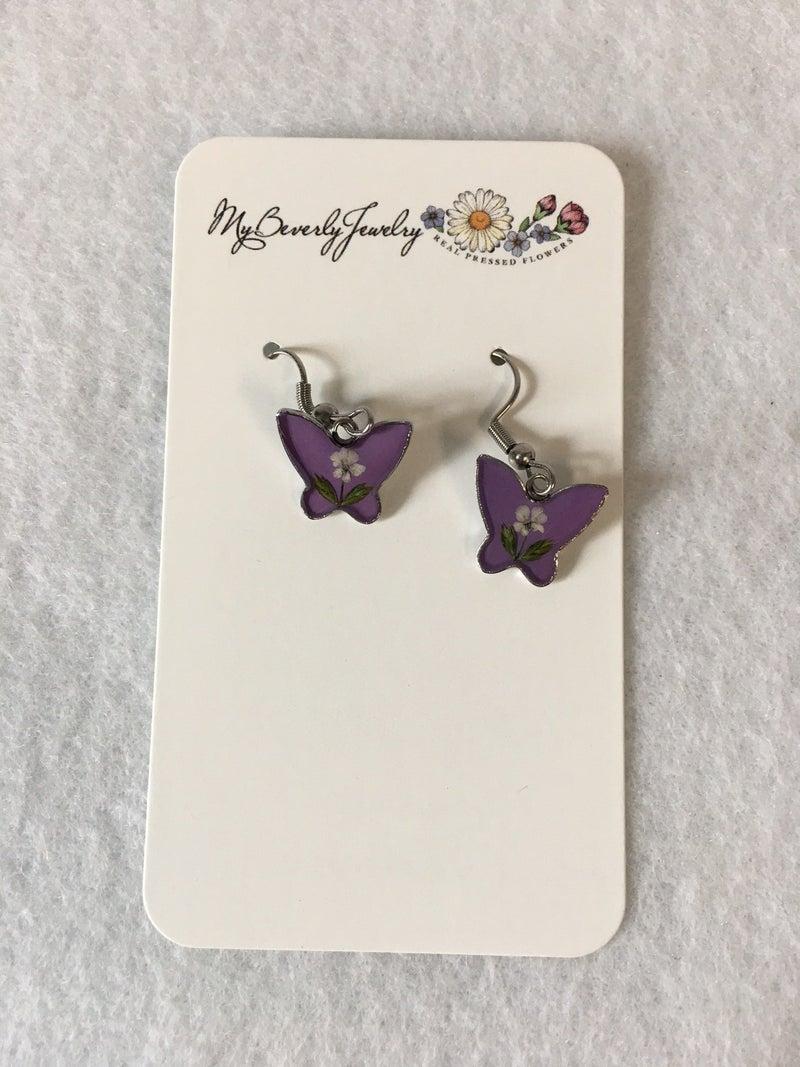 Butterfly earrings by My Beverly Jewelry