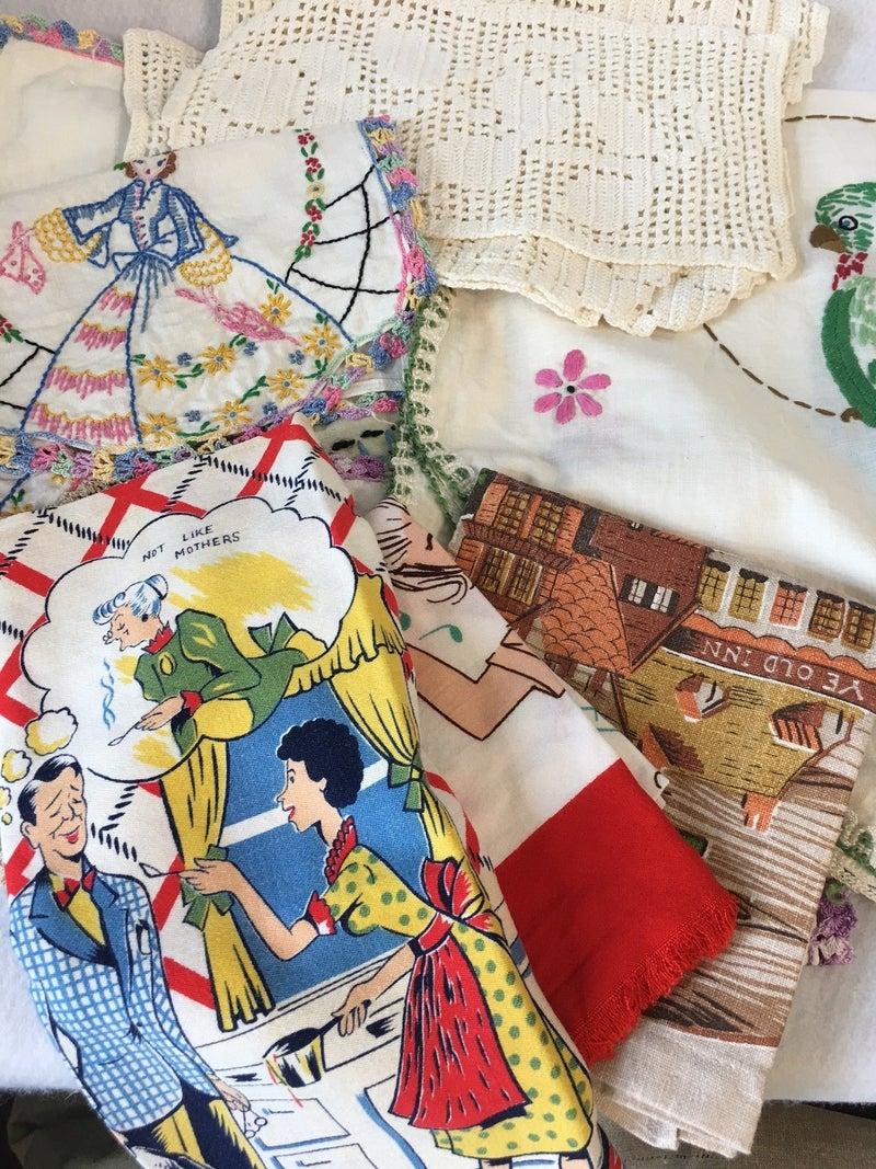 Grab bag of linens