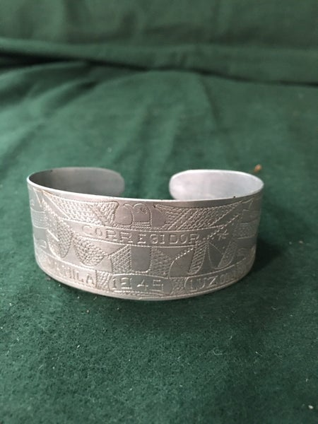 Trench art bracelet from Philippines