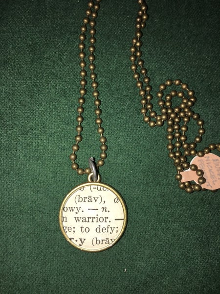 Indianhead nickel backed necklace