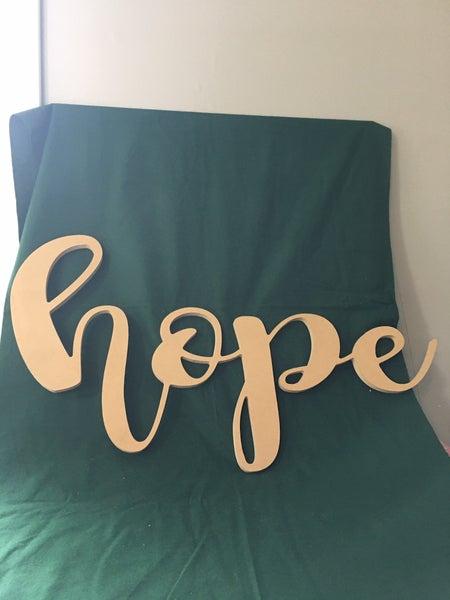 "Paintable ""hope"""