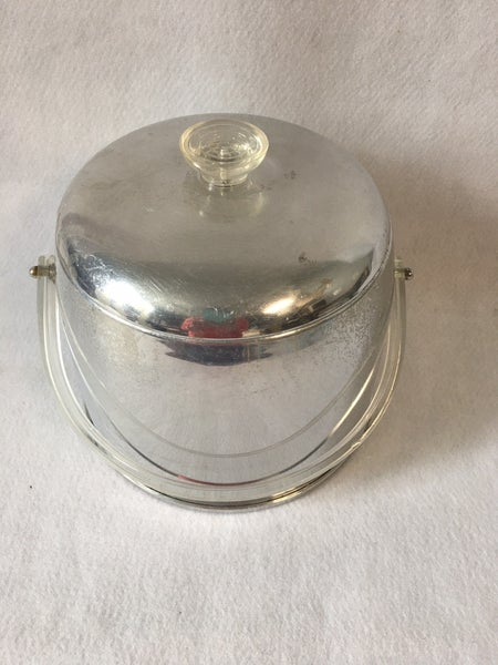 MCM Kromex aluminum ice bucket