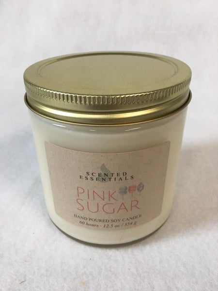 """""""Pink Sugar"""" candle from Scented Essentials"""