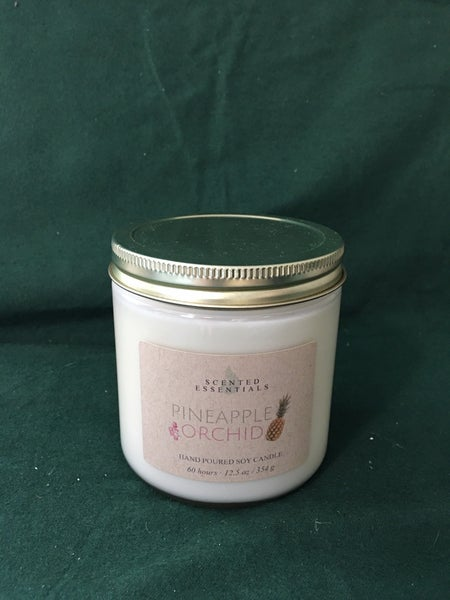 Pineapple Orchid Candle
