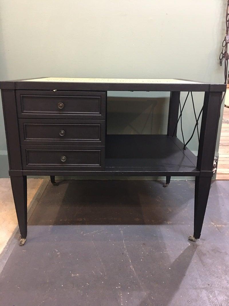 Vintage Brandt 3 drawer coffee table