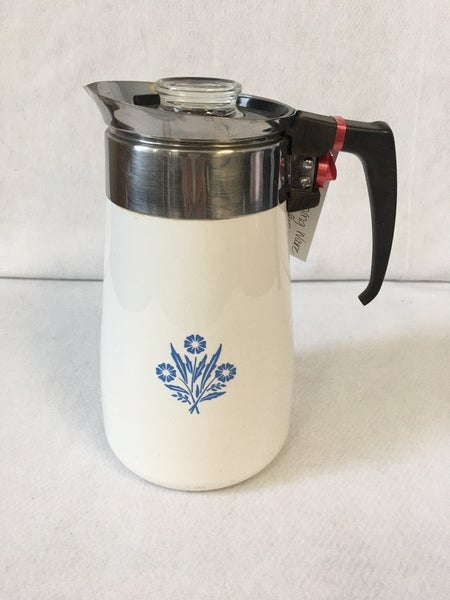 Vintage Corning Coffee Pot