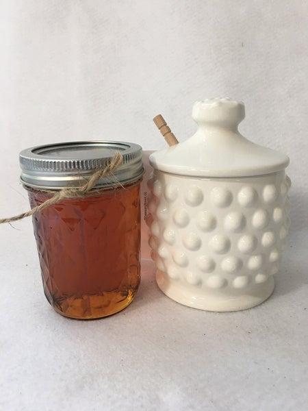 Honey & honey pot
