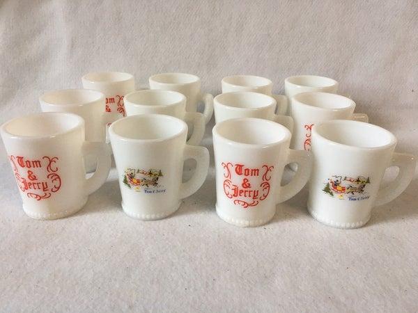 Set of 12 Tom & Jerry mugs, no shipping
