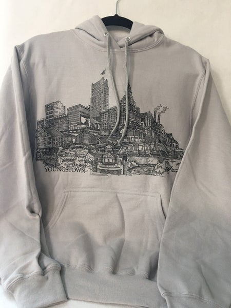 Youngstown hoodie, size small
