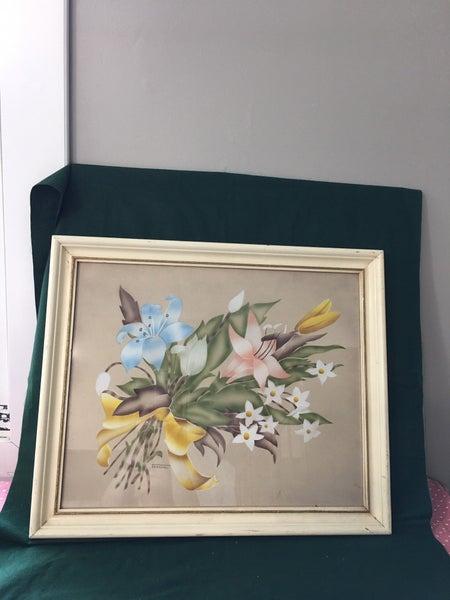 Vintage floral art by Terone