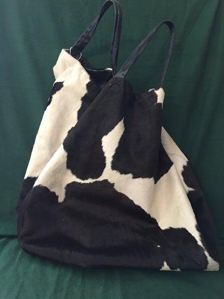 Vintage cowhide bag