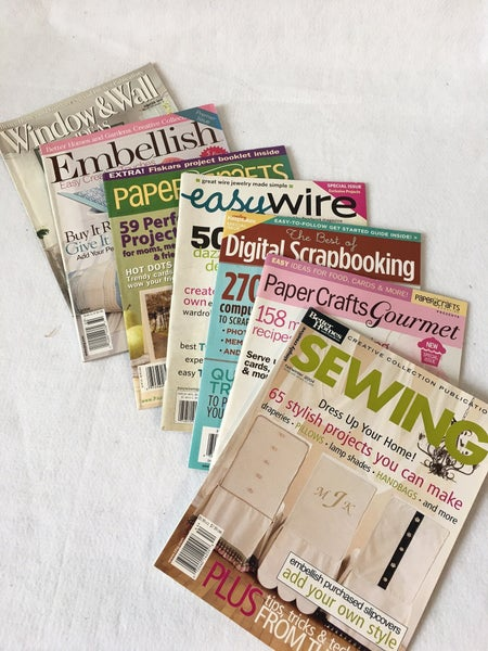 7 miscellaneous sewing and DIY magazines