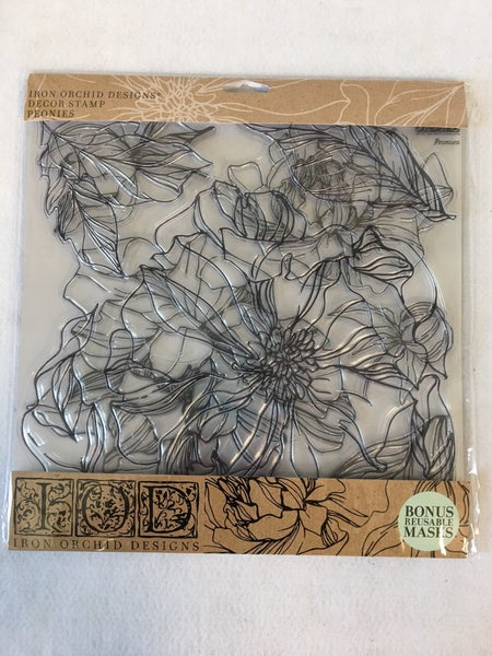 "Iron Orchid Design ""Chrysanthemums"" stamp"