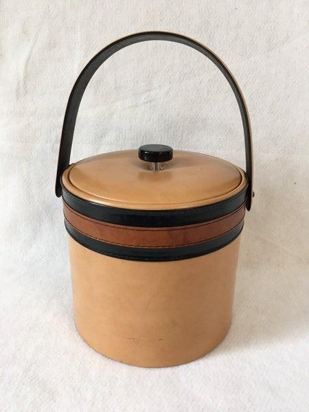 MCM vinyl ice bucket