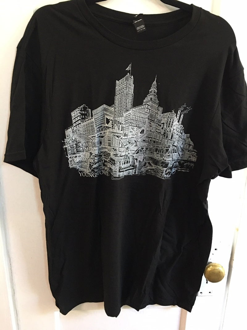Youngstown tee shirt, Mens XL