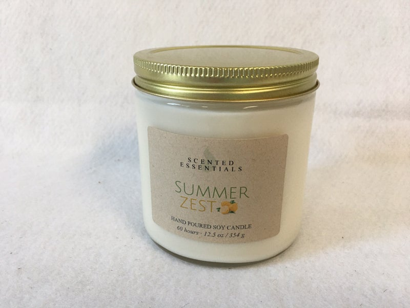 Summer Zest candle 12.5 oz