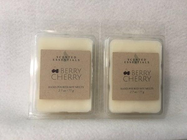Berry Cherry wax melts, 2 pack