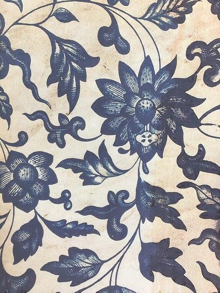 Monahan blue floral large paper