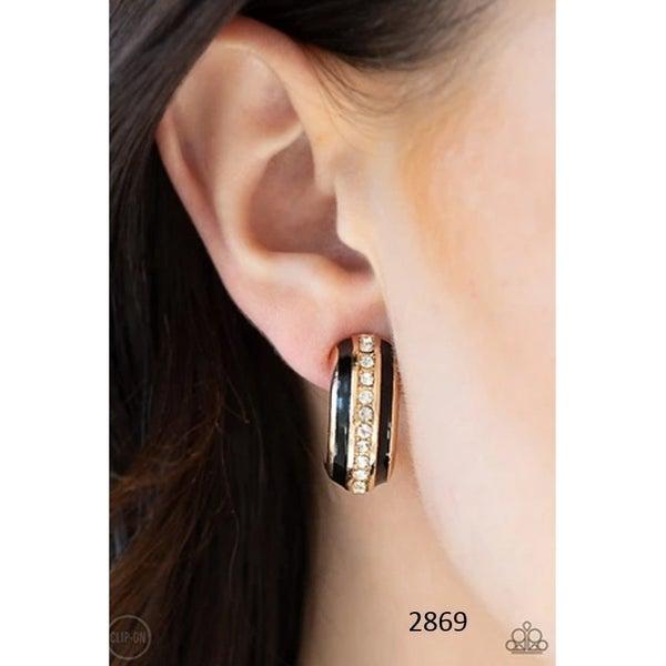 WEALTHY Living- Clip on Earrings