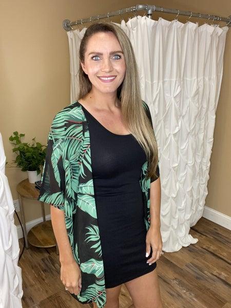 Maria Body Dress - Black