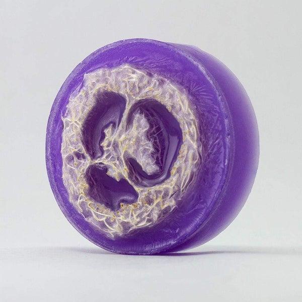 Loofah Soap - Lavender