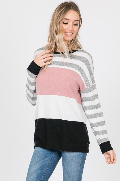 Mia Brushed Knit Top