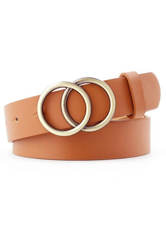 Amelia Double Ring Belt - Multiple Colors