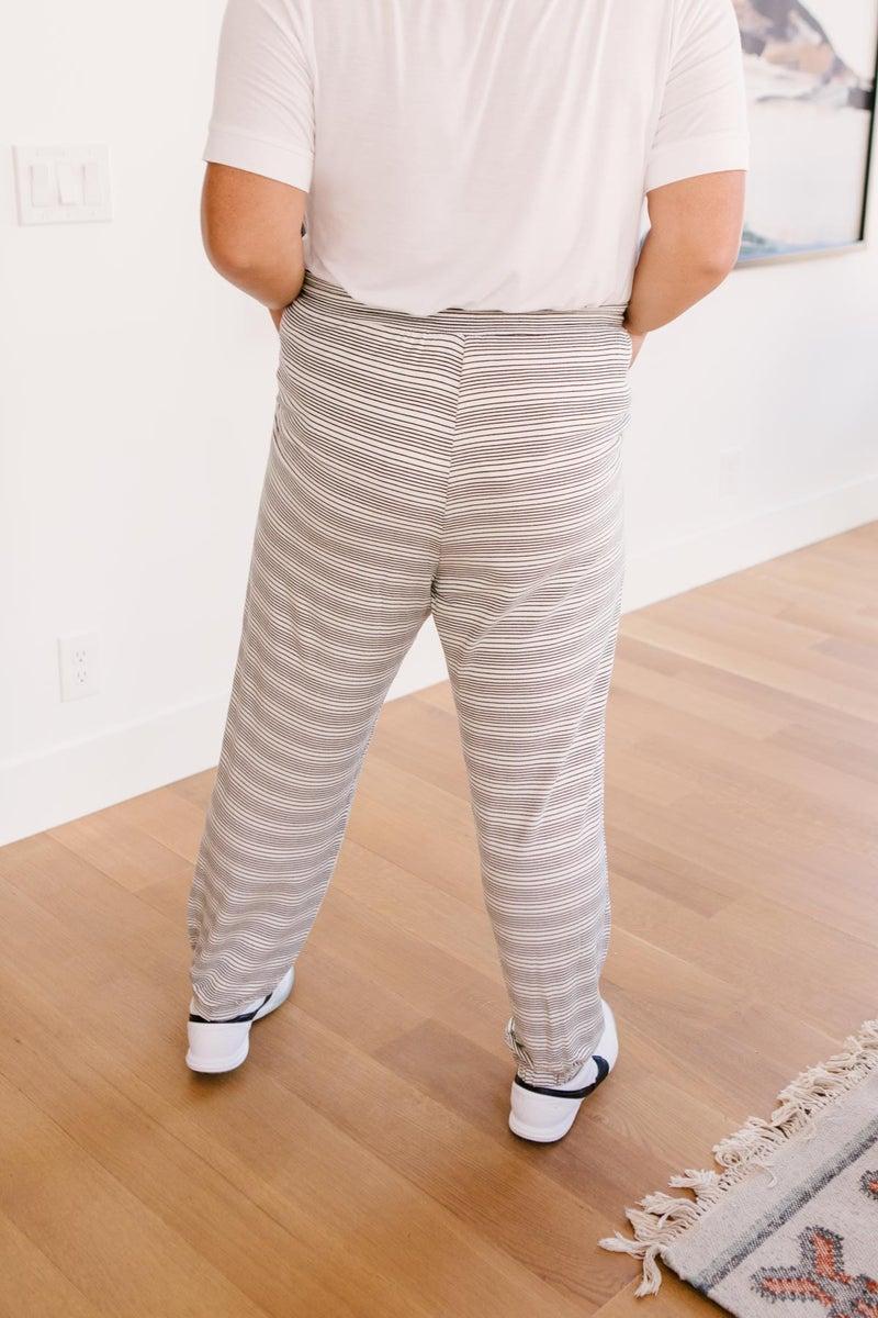Cozy In Stripes Bottoms