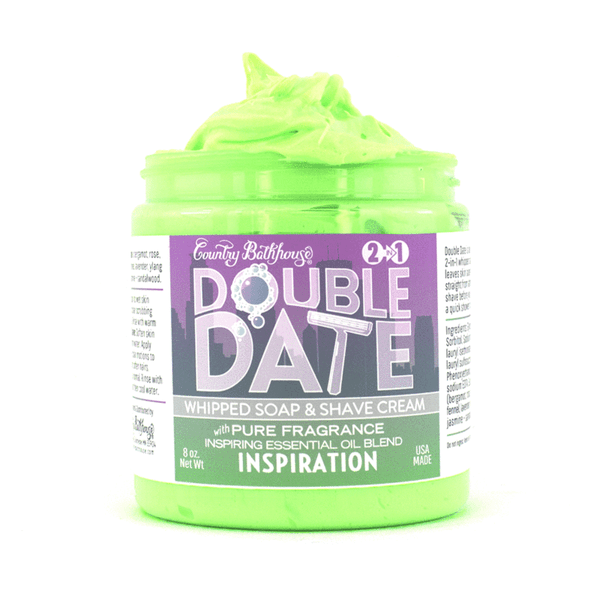 Double Date Whipped Soap and Shave - Inspiration