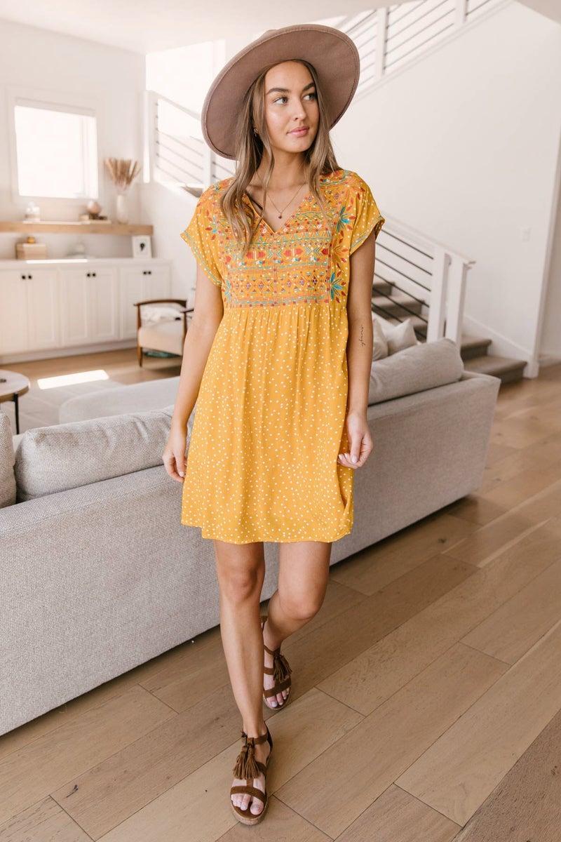 Bright As The Sun Dress