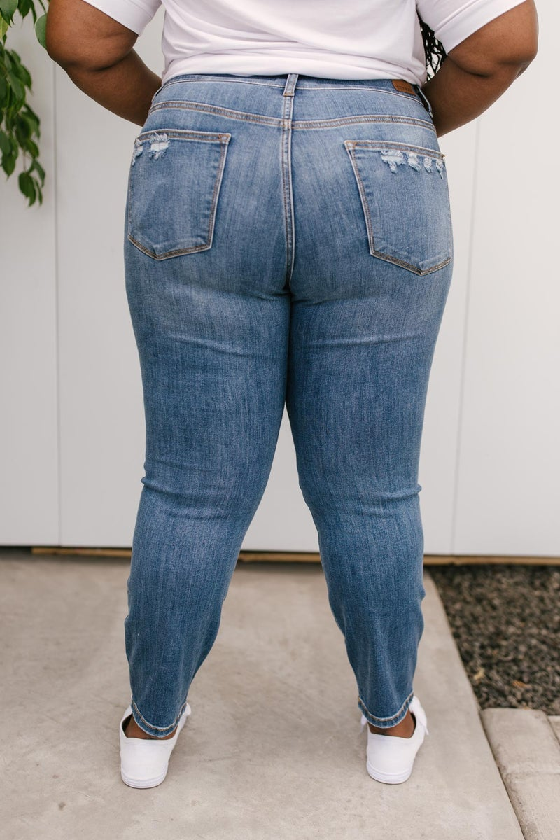 Best of Both Worlds Cropped Jeans