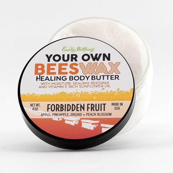 Your Own Beeswax Body Butter - Forbidden Fruit