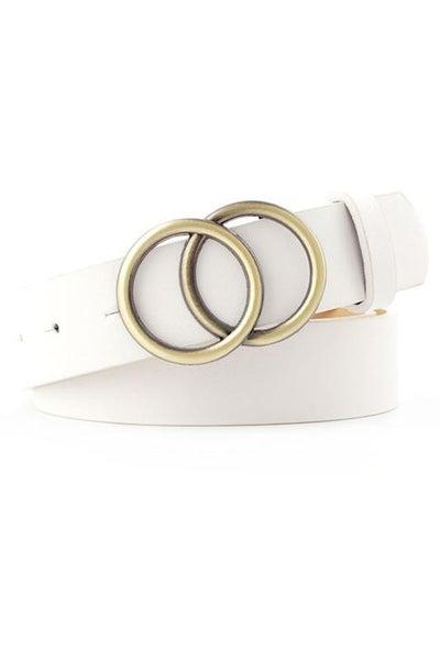 Amelia Double Ring Belt - Multiple Colors