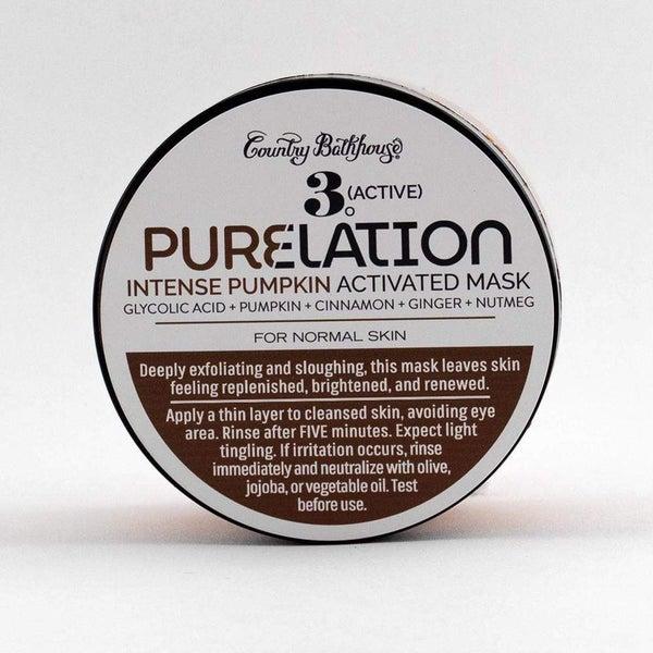 Pure Elation Facial Mask - Intense Pumpkin