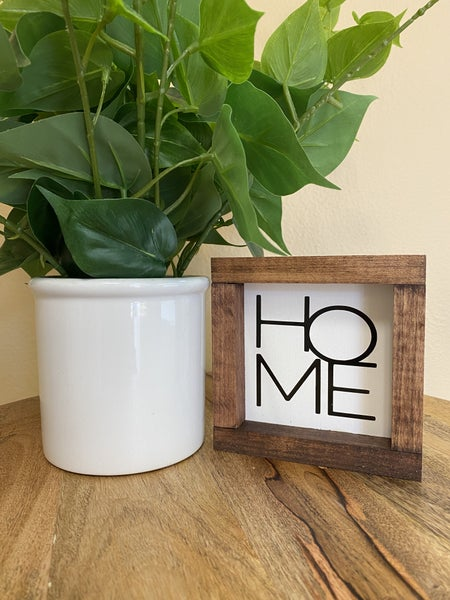 Home Boxed Sign Set
