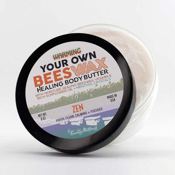 Your Own Beeswax Warming Body Butter - Zen