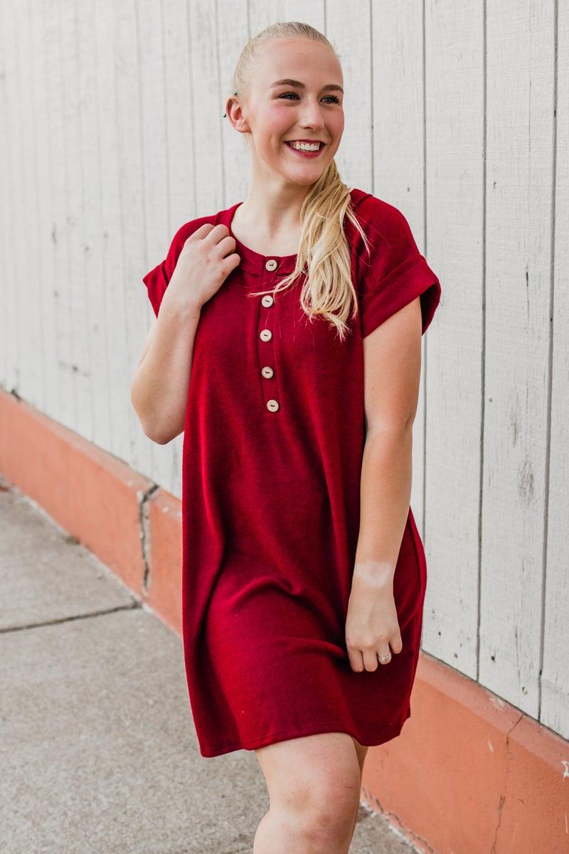 Fleece Tunic Dress