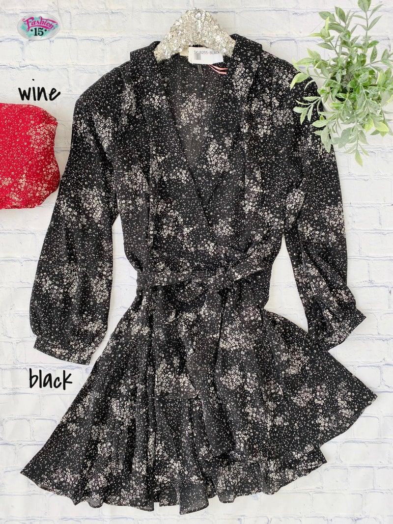 .Wrap Tunic Dress *Final Sale*