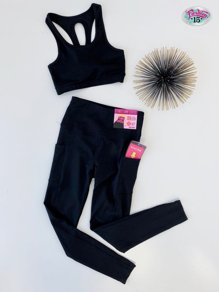 Black Activewear Set