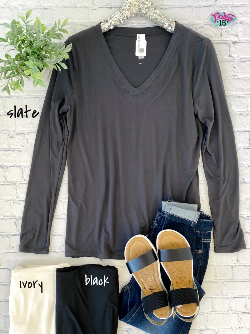 Plus Buttery Soft Solid Top