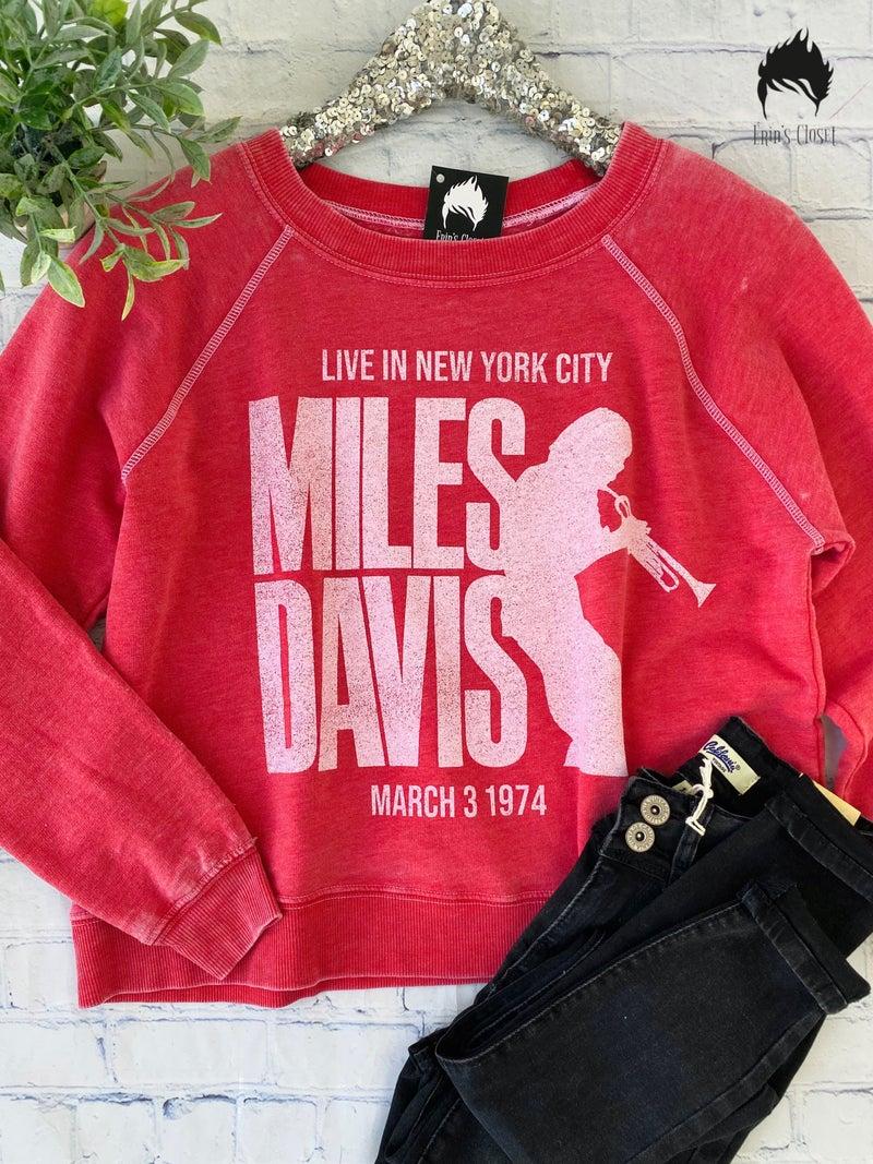 *Erin's Closet* Miles Davis Graphic *Final Sale*