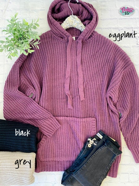 Plus Hooded Sweater