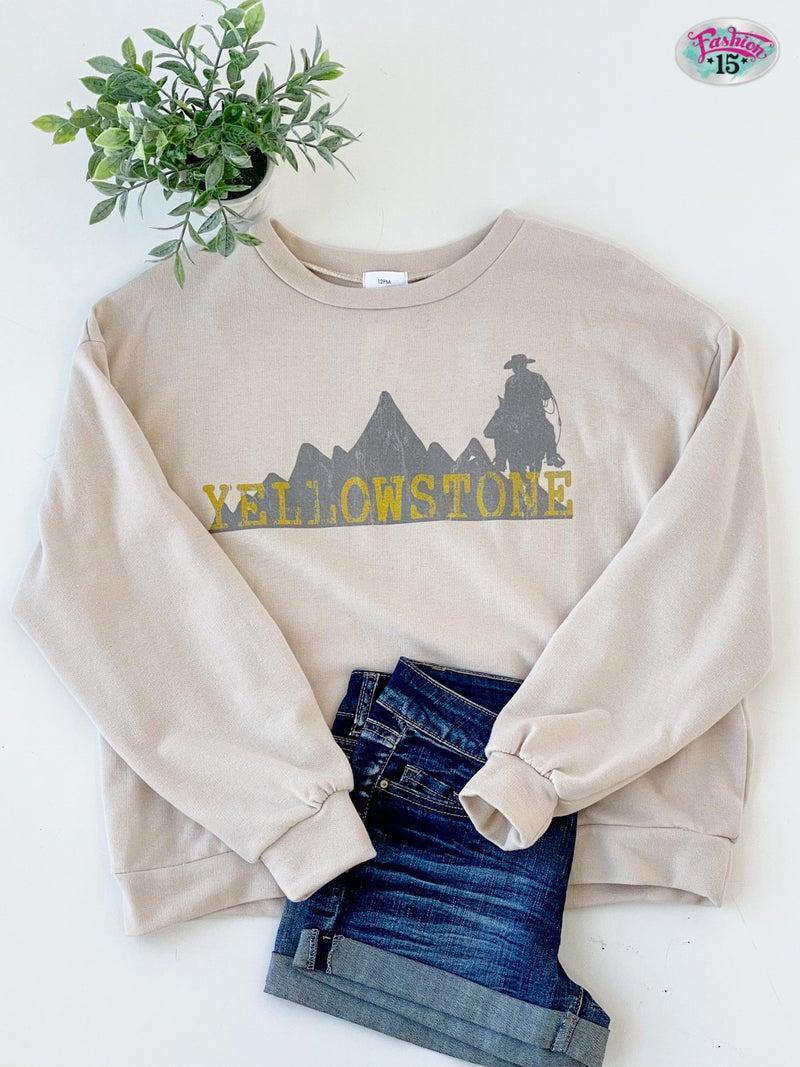 Yellowstone Graphic Sweatshirt