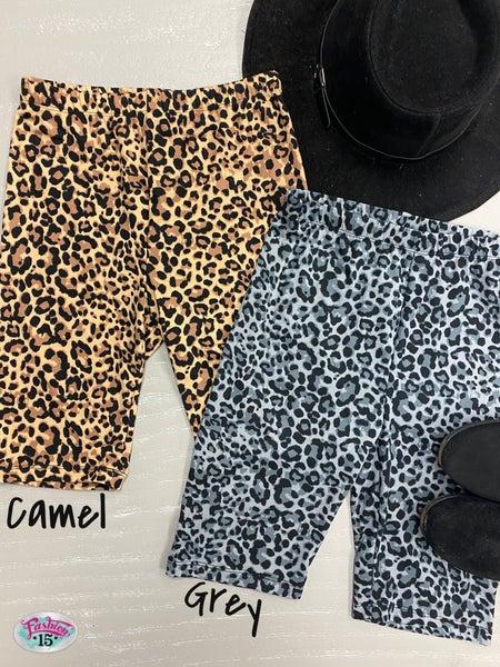 ~Animal Print Biker Shorts
