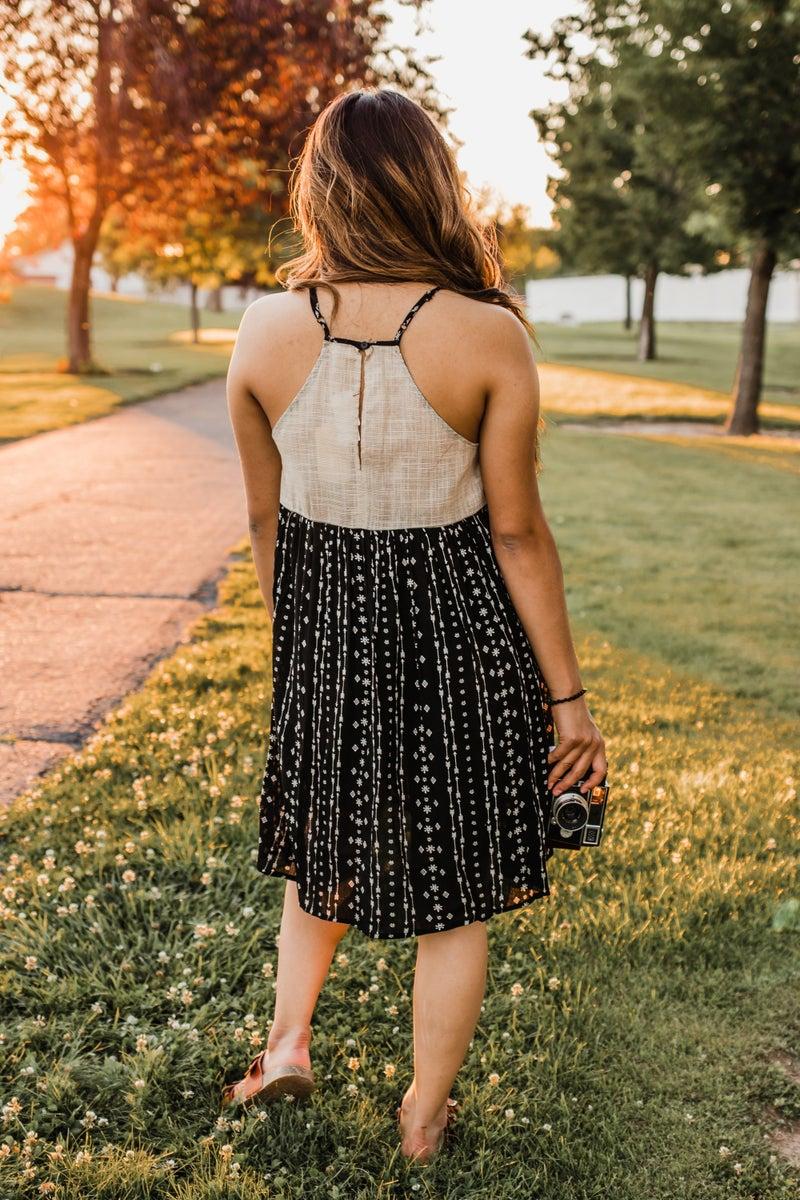Arrow Patterned Dress