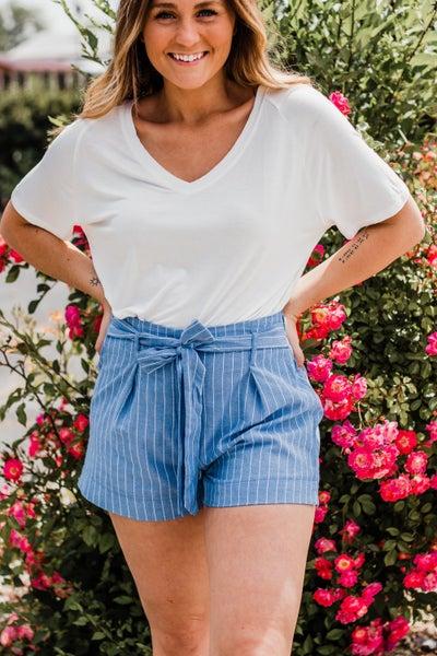 Paperbag Shorts w/ Tie