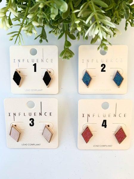 Druzy Sparkly Earrings