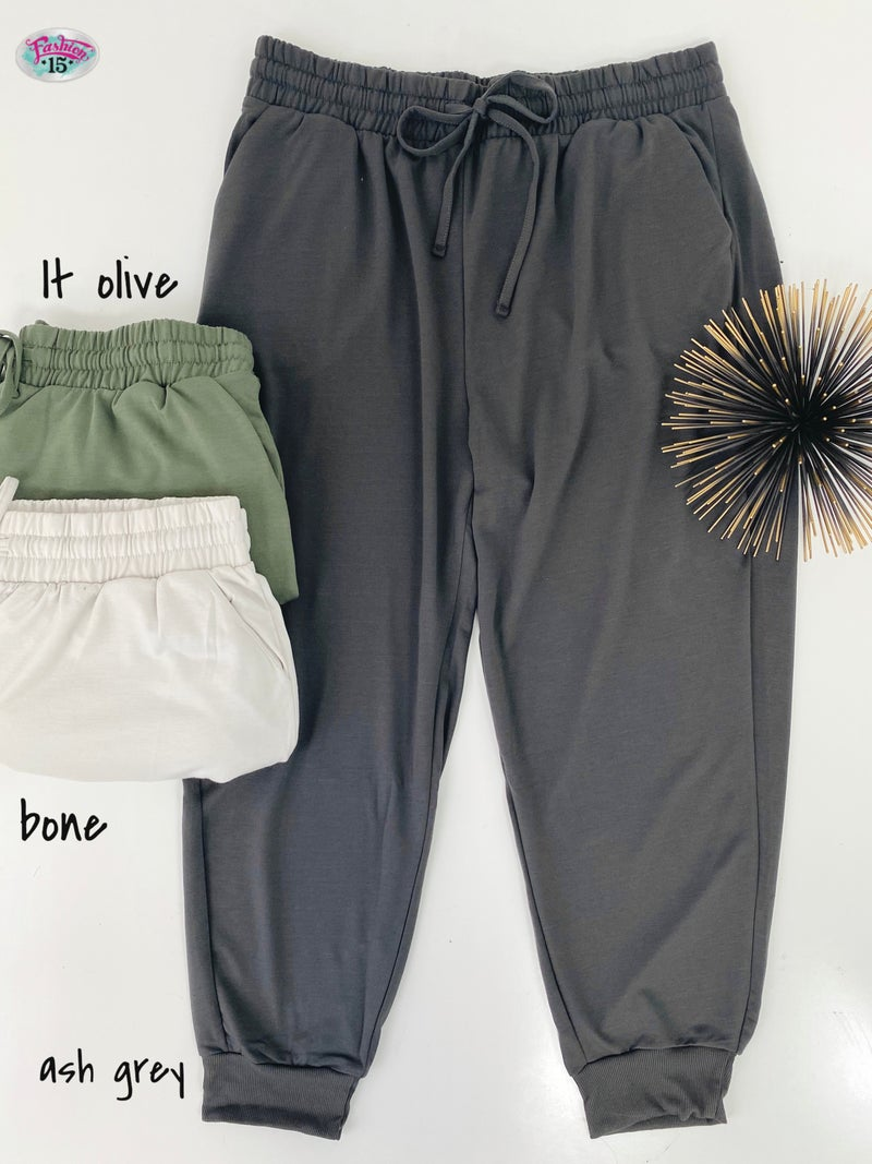 .Plus Solid Joggers