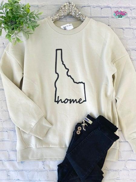 Bone Idaho Home Sweatshirt